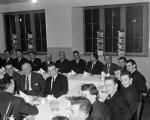 38th Edinburgh Company Boys Brigade held Golden Jubilee dinner in Hall of St Bernards Church