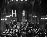 Duke of Edinburgh visits - Glasgow - At Glasgow Cathedral - The Queen's own Cameron Highlanders
