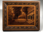 Marquetry mosaic picture