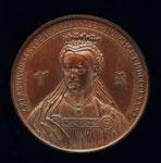 Medal (obverse), commemorating 21st Anniversary of Volunteer Movement