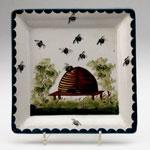Honey box drip tray