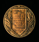 Medal (reverse), presented to 15th Scottish Division to commemorate its liberation of Tilburg, Holland, 1944