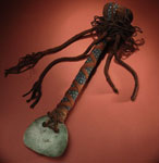 Ceremonial axe (n'bouet), with jade blade