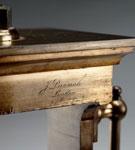Hydrostatic press (detail), ordered by Joseph Bramah