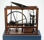 Model, of a steam condensing engine, made by Samuel Clegg