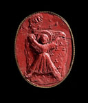 Seal impression (cast), of Guardians of Scotland