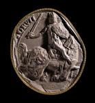 Seal impression (cast), of Robert I (Robert the Bruce)