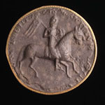 Seal impression (cast), of David, 3rd Earl of Huntingdon and later King David I
