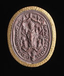 Seal impression (cast), of W. Matthew, monk