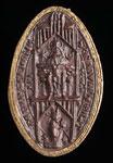 Seal impression (cast), of Abbot Ralf