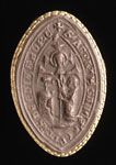 Seal impression (cast), of Abbot Adam