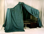 Camp bed, used by Lieutenant Horace Paul