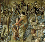 Shipbuilding on the Clyde: Riggers, panel b
