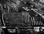 Aerial photograph of St.Rollox Works, c.1955