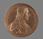 Bronze medal with bust of Henry, Cardinal of York