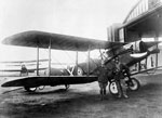 Bristol F.2b fighter biplane E2619 at the Flying Training School at Leuchars c1918