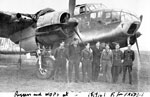 Bristol Beaufort with ground crew of No 42 Squadron RAF at Leuchars in Sept 1941