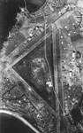 Aerial reconnaissance photo of Turnberry airfield taken around 1942
