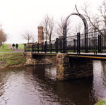 Castle Footbridge, Eglinton Country Park, Kilwinning