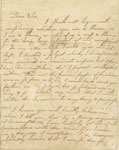 Letter of Robert Burns to William Niven dated Lochlee 12th June 1781 (page 1 of 2)