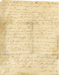 Letter of Robert Burns to William Niven dated Lochlee 12th June 1781 (page 2 of 2)