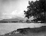 View of Apia across bay from Mulinu'u Peninsula