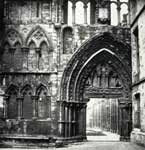 Holyrood Abbey - photograph