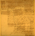 Robert Paterson's Masonic Lodge application, 1762
