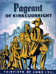 Programme booklet for the Pageant of Kirkcudbright, 1951