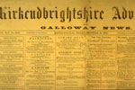 'Kirkcudbrightshire Advertiser and Galloway News' December 11, 1903