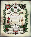 Ancient Order of St.Crispin, Certificate