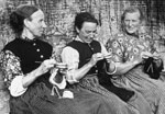 Fisherrow fishwives knitting