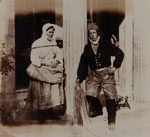 Newhaven fisherman and fishwife