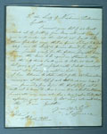 Letter to the Society of Free Fishermen of Newhaven