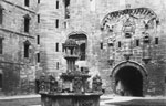 The fountain, Linlithgow Palace, c1907
