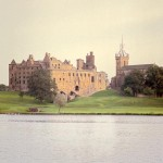 Linlithgow Palace and Loch, West Lothian