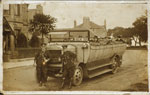 Roslin Tour Bus with crew c1925