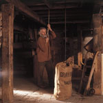 Milling process at Barry Mill