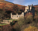 Castle Campbell in Dollar Glen