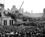 Laying the foundation stone of the City Chambers, Perth