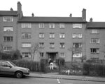 Castlemilk Drive was built in 1954 by Glasgow Corporation Housing Department, as part of the vast Castlemilk peripheral housing scheme.