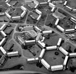 Aerial view of Whitfield Development, Dundee