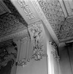 Detail of corbel on first-floor drawing room ceiling, Egremont, No 38 Dick Place, Edinburgh