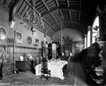 Dining Hall, Duntreath Castle, Strathblane, Stirling