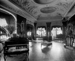 Music Room, Duntreath Castle, Strathblane, Stirling
