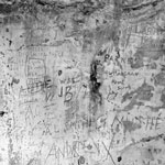 World War I and II graffiti, Hackness Martello Tower, South Walls, Hoy, Orkney Islands