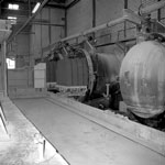 Autoclaves, Kirkforthar Brick Works, Fife
