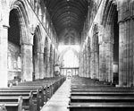 Nave, Dunblane Cathedral, Dunblane, Stirling, looking east towards the choir