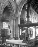 Nave, Dunblane Cathedral, Dunblane, Stirling, looking north-east towards the choir