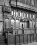Choir Stalls and Organ Console, Dunblane Cathedral, Dunblane, Stirling